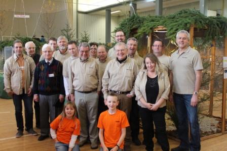 Mitglieder zur Vereinsschau 2014